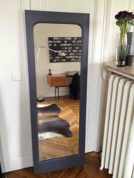 la porte miroir allovitres le blog d co. Black Bedroom Furniture Sets. Home Design Ideas